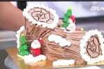 Tự làm bánh khúc cây ngộ nghĩnh đón Giáng sinh