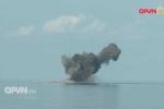 Video: Xem Su-30MK2 của Việt Nam ném bom diệt mục tiêu trên biển