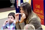 Không tới Việt Nam cùng chồng, đệ nhất phu nhân Melania Trump làm gì khi một mình ở Mỹ?
