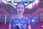Video: Phần thi Sasuke của cô gái xinh đẹp mê gym khiến dân mạng 'đứng hình'