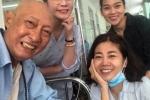 Xúc động với nụ cười lạc quan của nghệ sĩ Lê Bình và Mai Phương trên giường bệnh