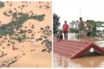 Vỡ đập thủy điện ở Lào: Người dân leo lên cây tránh lũ, cứu hộ chạy đua với thời gian