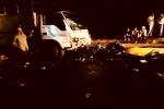 Xe máy tông xe tải, 2 bác sĩ thương vong