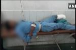 Rúng động bác sĩ lấy chiếc chân bị cắt rời cho bệnh nhân gối đầu