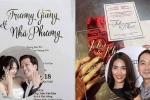 Thiệp cưới của sao Việt: Người cầu kỳ đẹp mắt, người đơn giản bất ngờ