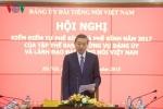 Thượng tướng Tô Lâm dự và chỉ đạo Hội nghị kiểm điểm Ban Thường vụ Đảng ủy VOV
