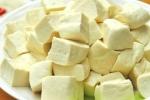 Mẹo nhỏ giúp bạn tránh mua phải đậu phụ chứa thạch cao