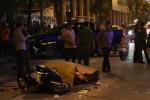 Video: Toàn cảnh sập giàn giáo ở phố Lê Văn Lương, Hà Nội 1 người chết tại chỗ
