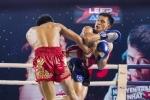 'Doc co cau bai' Nguyen Tran Duy Nhat thang giai Muay Thai Championship 2018 hinh anh 1