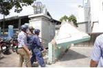 Tường trước trụ sở lấn chiếm vỉa hè bị đập bỏ, Bộ Công thương lên tiếng
