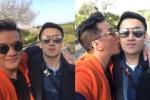Video: Giữa ồn ào iFan, Đàm Vĩnh Hưng hôn má, tình cảm bên Dương Triệu Vũ tại Nhật