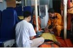 14 giờ vượt sóng to gió lớn cứu thuyền trưởng bị liệt nửa người