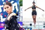 Siêu mẫu Minh Tú khoe vẻ khoẻ khoắn, hào hứng tham gia loạt thử thách trên cao