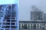 Cháy ngùn ngụt chung cư Parc Spring ở Sài Gòn, hàng trăm người mắc kẹt