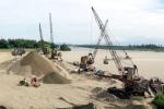 Bộ Tài nguyên và Môi trường: Khai thác cát, sỏi dưới sông phải thông qua hình thức đấu giá