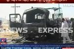 Video: Hiện trường kinh hoàng vụ đánh bom xe ở Pakistan khiến 28 người thương vong