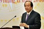 Bộ trưởng Mai Tiến Dũng: 'Chính phủ chưa bàn việc sáp nhập các bộ'
