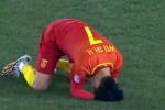 Video: 'Ronaldo Trung Quốc' dứt điểm khiến hàng tỷ CĐV nhà tiếc nuối