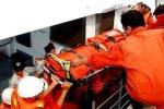Cứu hộ thành công một ngư dân bị thương nặng trên biển