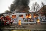 Cháy chợ người Việt tại Nga