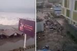 Động đất, sóng thần tấn công Indonesia: Những hình ảnh khủng khiếp