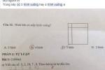 Bài toán tìm hình vuông của học sinh lớp 1 khiến phụ huynh, giáo viên đau đầu