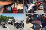 Xe khách vượt đèn đỏ tông hàng loạt xe máy: Nhân chứng tiết lộ không ngờ
