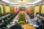 Trình lãnh đạo cấp cao phê duyệt để tàu sân bay Mỹ đến Đà Nẵng vào tháng 3 tới