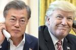 Điện đàm với Tổng thống Hàn Quốc, ông Trump khẳng định tiếp tục đối thoại với Triều Tiên