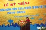 Chủ tịch Quốc hội: 'Ngành TT&TT phải tiên phong với sứ mệnh phát triển kinh tế tri thức'