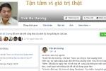 Tỷ phú Trần Bá Dương lập Facebook cung cấp thông tin Đại Quang Minh, khu đô thị Sala - Thủ Thiêm