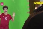 Clip: Công Phượng siêu nhí nhố trong buổi chụp hình của đội tuyển