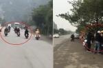Clip: Nhóm thanh niên dàn hàng đánh võng thách thức CSGT, la làng ăn vạ khi bị bắt