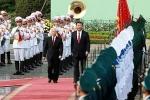Lễ đón Tổng Bí thư, Chủ tịch Trung Quốc Tập Cận Bình thăm chính thức Việt Nam
