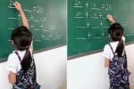 Clip: Bé gái giải toán theo cách đơn giản, thông minh không ngờ