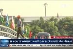 Cận cảnh 2 cầu vượt chạy vào tận cửa sân bay Tân Sơn Nhất