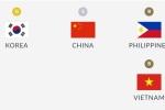 Việt Nam giành huy chương đầu tiên tại ASIAD 2018
