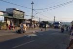 Truy xuất camera tìm ô tô cán chết trung úy trên đường Hồ Chí Minh