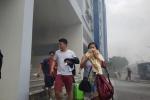 Phong tỏa hiện trường, điều tra vụ cháy Carina