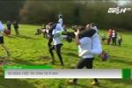 Sôi động cuộc thi cõng vợ vượt chướng ngại vật ở Anh