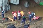 Sập mỏ vàng ở Hòa Bình: Gần 100 người nỗ lực cứu 2 phu vàng mắc kẹt
