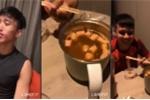 Clip: Đoàn Văn Hậu làm Vlog với nồi lẩu siêu bé khiến dân mạng phì cười