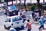Giang hồ nổ súng, chém nhau kinh hoàng giải quyết nợ nần ở Nam Định