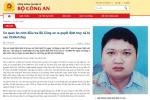 Bộ Công an ra quyết định truy nã cựu Tổng Giám đốc PVTex Vũ Đình Duy