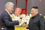 Ảnh: Toàn cảnh chuyến thăm lịch sử của Chủ tịch Cuba tới Triều Tiên