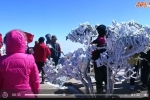 Video: Du khách đổ xô lên ngắm băng tuyết phủ trắng đỉnh Fansipan