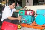 Lão nông biến khí biogas thành điện