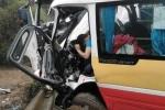 Xe buýt lao đầu vào xe tải khiến 9 người thương vong: Xác định nguyên nhân ban đầu
