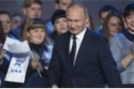 Video: Khoảnh khắc hàng triệu trái tim Nga sung sướng khi ông Putin tuyên bố tái tranh cử