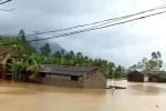 Ảnh hưởng bão số 3, hàng trăm ngôi nhà ở Thanh Hóa bị nhấn chìm trong biển nước